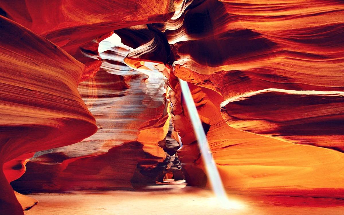 El Cañon del antílope, Arizona (USA)