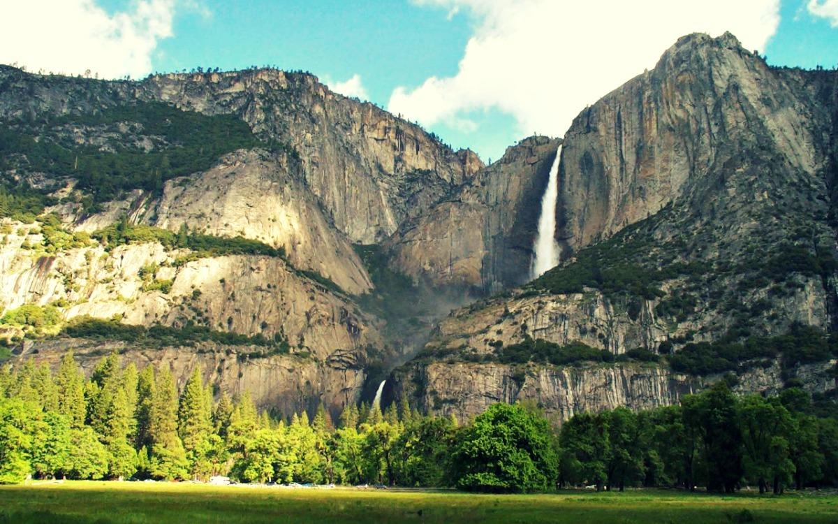 Cascada Bridalveil - Parque Nacional de Yosemite (EEUU)