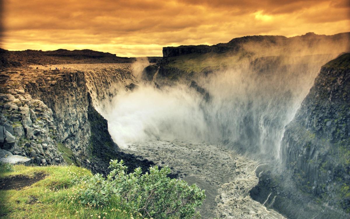 Catarata Dettifoss - Islandia