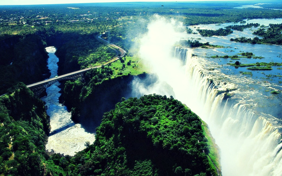 Cataratas Victoria - Zambia - Zimbawe