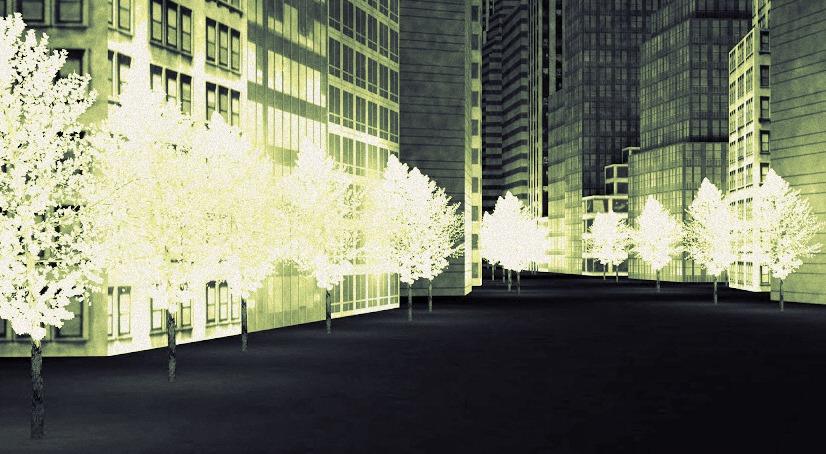 Ciudad fluorescente