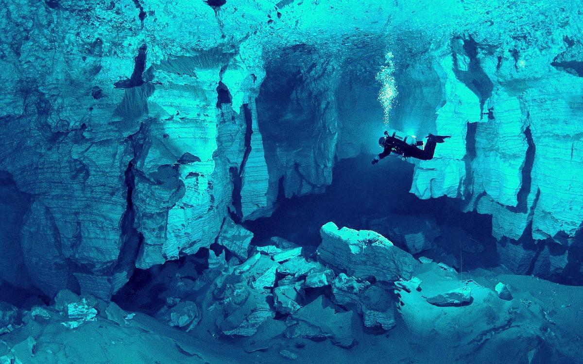La cueva Orda, Rusia
