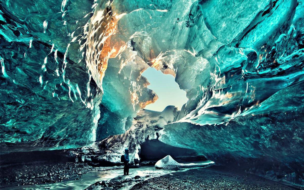 La cueva de Vatnajökull, Islandia