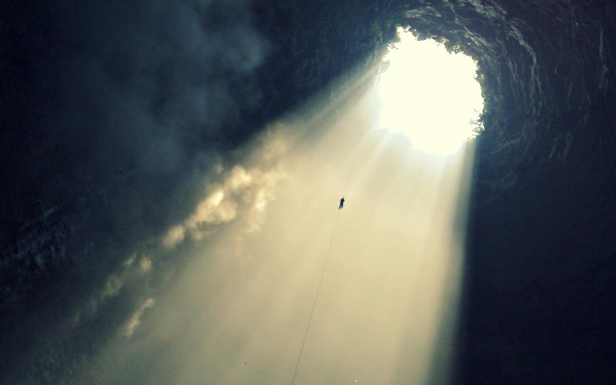 El sótano de las Golondrinas, México