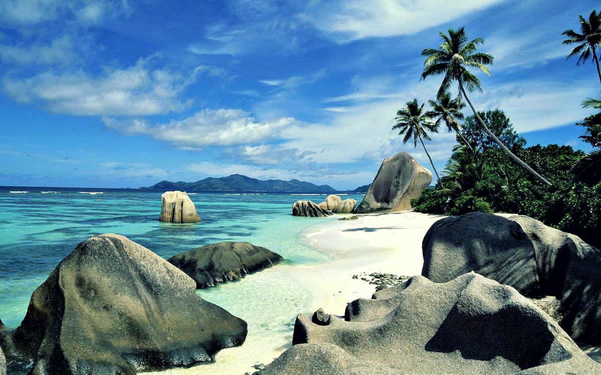 Isla La Digue, Seychelles