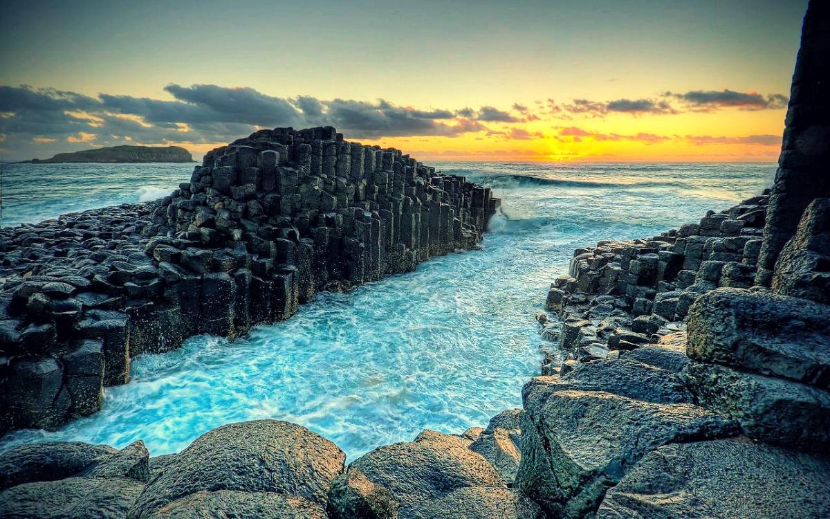 La calzada de los gigantes, Escocia