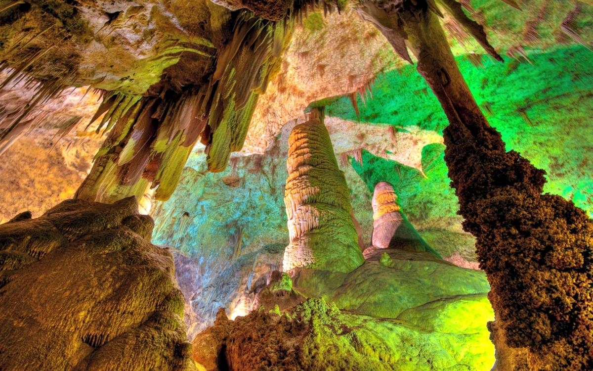 Las Cavernas de Carlsbad, Nuevo México