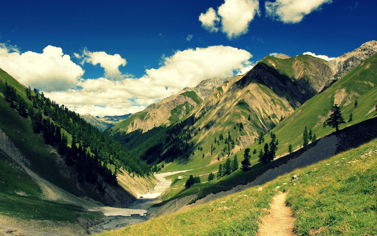 Parque Nacional de los Alpes Suizos, Suiza