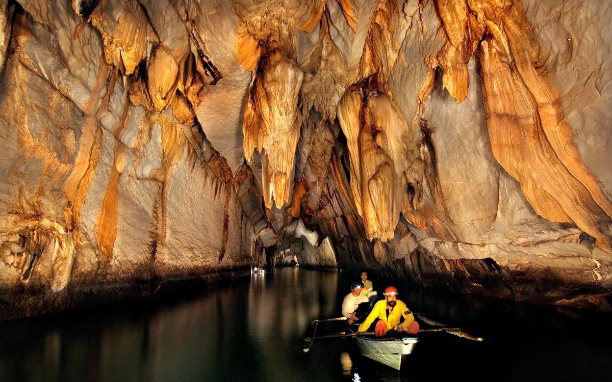 Río subterraneo de Puerto Princesa, Filipinas