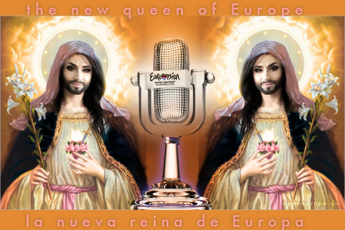 Conchita Wurst the new queen of Europe