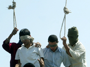 Irán linch adolescentes acusados de homosexualidad